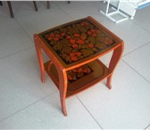 Foto в Для детей Детская мебель Столик декоративный,  хохлома,  б/у.  Недорого.----------- в Нижнем Новгороде 300