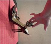 Фотография в Одежда и обувь Женская обувь БОСОНОЖКИ 37 размер шпилька,темно-бардо цвет в Санкт-Петербурге 3000
