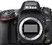 Фото в Электроника и техника Фотокамеры и фото техника Продам фотокамеру Nikon D610 с объективом в Красноярске 125000