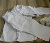 Foto в Спорт Спортивная одежда Срочно продам абсолютно новое кимано + подарок  Рост в Братске 1200