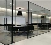 Фото в Строительство и ремонт Дизайн интерьера Самые популярные перегородки - это стеклянные в Краснодаре 8200