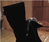 Foto в Одежда и обувь Женская обувь Продам новые замшевые сапоги размер 38 не в Энгельсе 300