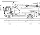 Фото в Авторынок Бетононасос Бетононасос KCP42RX170 на шасси Daewoo novus Высота в Ижевске 10800000