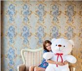 Фотография в Для детей Детские игрушки Большой белый плюшевый мишка прекрасный подарок в Санкт-Петербурге 3390