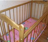 Изображение в Для детей Детская мебель Продам детскую кроватку 2 варианта ножек, в Орске 1200