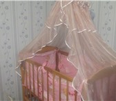 Фотография в Для детей Детская мебель Продам кроватку!В кроватку идет набор балдахин в Чите 3500