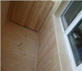 Фото в Строительство и ремонт Двери, окна, балконы   Выполним отделку лоджий и балконов Вагонкой в Новосибирске 250