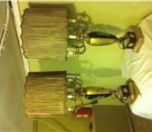 Фото в Мебель и интерьер Светильники, люстры, лампы Продам антикварные лампы (пара): стекло, в Санкт-Петербурге 0