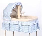 Изображение в Для детей Детская мебель Люлька 3в1: кроватка на колесиках (колеса в Тюмени 3000