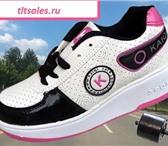 Фото в Для детей Детская обувь Продаю НОВЫЕ кроссовки на 1 или 2 колесиках( в Самаре 2000