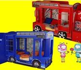 Изображение в Для детей Детская мебель В наличии - красный, синий.Двухъярусная кровать в Москве 0