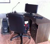 Фотография в Мебель и интерьер Офисная мебель Продам космпьютерный стол угловой с ящиками в Череповецке 3900