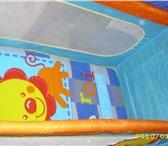Фотография в Для детей Детская мебель Срочно  продам кровать  манеж   б у 8 мес в Глазов 2500