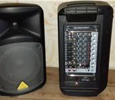 Фотография в Электроника и техника Аудиотехника Колонки, микшер, 2 микрофона. Компактная в Омске 33000