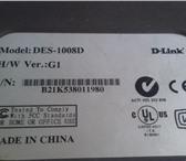 Фотография в Компьютеры Сетевое оборудование Продается коммутатор D-Link DES-1008D б/у в Сочи 400