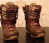 Изображение в Одежда и обувь Спортивная одежда Продам женские сноубордические ботинки фирмы в Новосибирске 3000