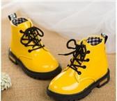 Фотография в Для детей Детская обувь ЕСТЬ В НАЛИЧИИ: детские ботиночки РОЗОВЫЕ в Санкт-Петербурге 1300