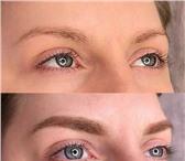 Фотография в Красота и здоровье Косметические услуги Перманентный макияжПудровые брови 8000 рАкварельные в Москве 7000