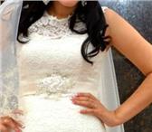 Foto в Одежда и обувь Свадебные платья Платье цвета шампань, размер 44-46, полностью в Чебоксарах 18000