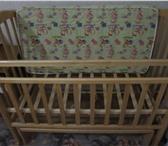 Foto в Для детей Детская мебель Классическая кроватка с маятниковым механизмом в Ростове-на-Дону 5000