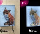 Изображение в Мебель и интерьер Другие предметы интерьера Картина-ночник отличный аксессуар для уюта в Москве 5600