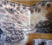 Фото в Строительство и ремонт Дизайн интерьера Роспись стен в интерьерах квартир, кафе, в Омске 3500