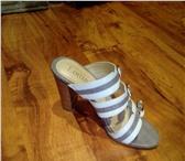 Фото в Одежда и обувь Женская обувь продам босоножки, р.34, высота каблука 9см, в Перми 1800