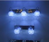 Фото в Мебель и интерьер Светильники, люстры, лампы Светильник настенный со светодиодной подсветкой. в Ижевске 0