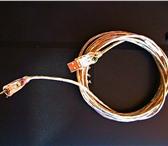 Foto в Компьютеры Комплектующие Кабель USB бу в отличном состоянии.Для соединения в Краснодаре 200