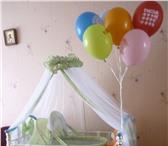 Foto в Для детей Детская мебель Продаем детскую металлическую кроватку с в Пскове 5500