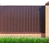 Foto в Строительство и ремонт Другие строительные услуги Продаём профлист металлический для заборов в Архангельске 445