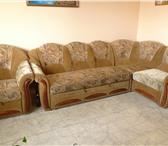Foto в Мебель и интерьер Мебель для гостиной диван-уголок, раздвижной с креслом в хорошем в Красноярске 3000