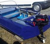 Фото в Хобби и увлечения Рыбалка мотолодка ОБЬ М б.у. есть мотор 5 лс на обкатке в Нижнем Тагиле 105000