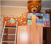 Фотография в Для детей Детская мебель кровать с шифоньером (полочки +под тремпеля) в Старом Осколе 3500