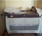 Фото в Для детей Детская мебель Graco Contour Electra - это манеж-кровать в Хабаровске 3500