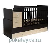 Изображение в Для детей Детская мебель Детская кровать-трансформер Фея 1100 рекомендуется в Магнитогорске 7500