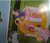 Foto в Для детей Детские игрушки Очень красивый и яркий батут с горкой для в Братске 3500