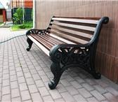 Изображение в Мебель и интерьер Мебель для дачи и сада В большей мере чугунная скамейка «Парковая» в Туле 18500
