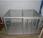 Изображение в Домашние животные Товары для животных продаю железную клетку для кролика: ширина в Барнауле 6000
